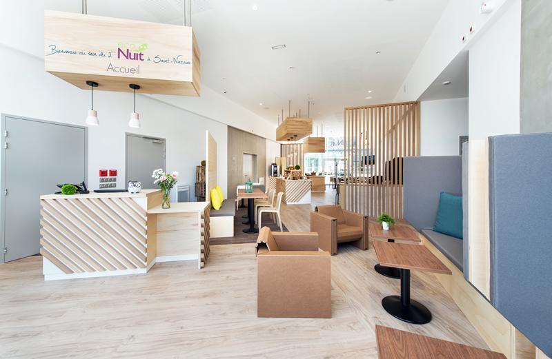 hotel saint nazaire eco nuit hotel ecologique hotel dans le quartier ouest. Black Bedroom Furniture Sets. Home Design Ideas